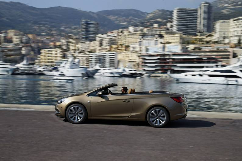 Vauxhall Cascada 1.6 SIDI Turbo review