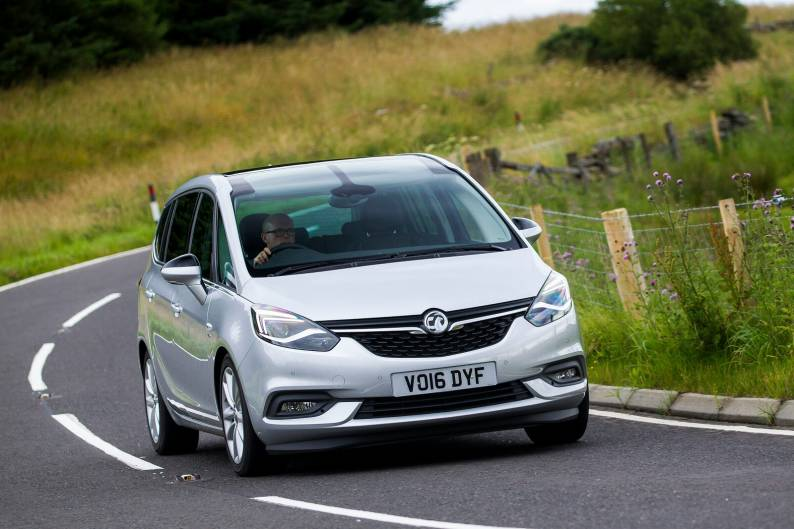 Vauxhall Zafira Tourer review