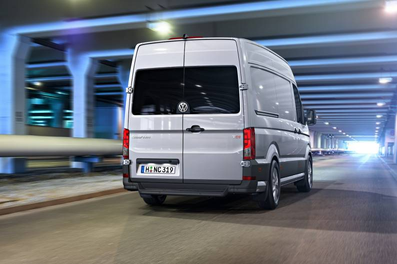 Volkswagen Crafter review | Car review | RAC Drive