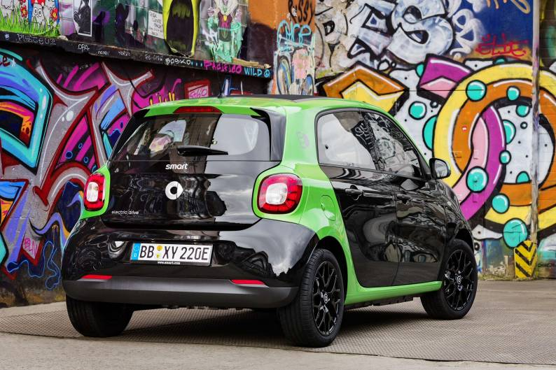 smart forfour review