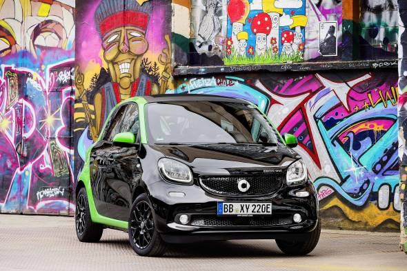 smart forfour EQ review