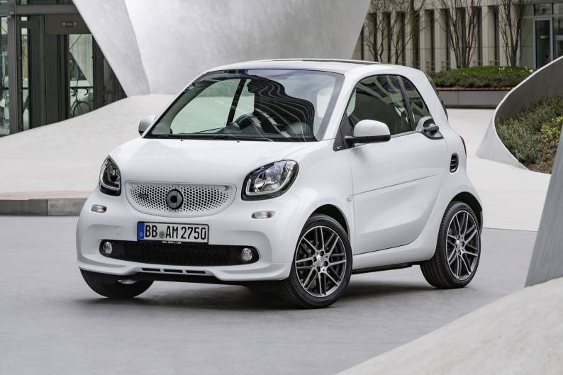 smart fortwo brabus review car review rac drive. Black Bedroom Furniture Sets. Home Design Ideas
