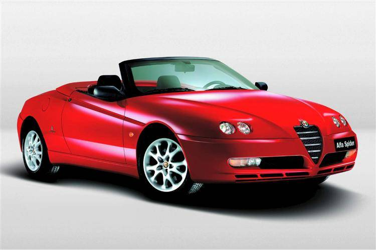 Alfa Romeo Spider Used Car Review Car Review RAC Drive - Alfa romeo spider new model