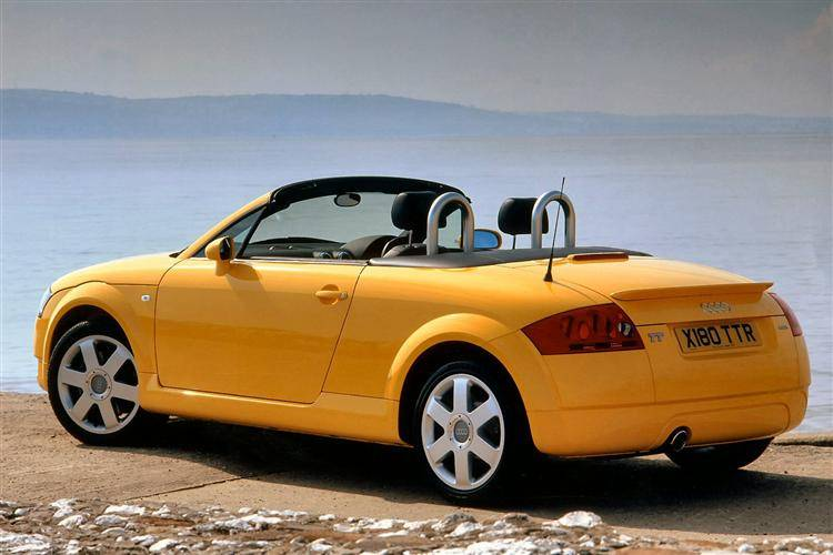 Audi Tt Roadster 1999 2007 Used Car Review Car