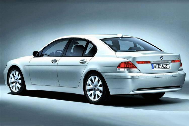 BMW 7 Series 2002