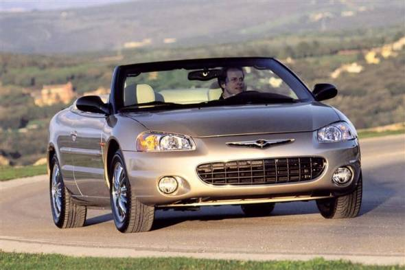 Chrysler Sebring Cabrio (2001 - 2002) used car review