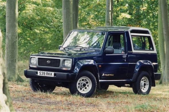 Daihatsu Fourtrak (1984 - 2002) used car review
