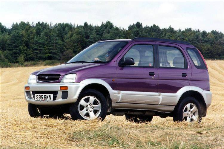 daihatsu terios 1997 2006 used car review car review. Black Bedroom Furniture Sets. Home Design Ideas