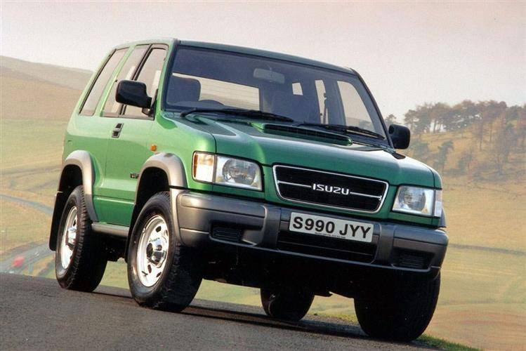 Isuzu Trooper 1987  2003 used car review  Car review  RAC Drive