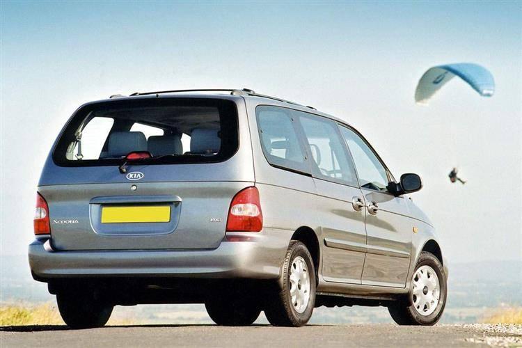 kia sedona 1999 2006 used car review car review rac drive. Black Bedroom Furniture Sets. Home Design Ideas