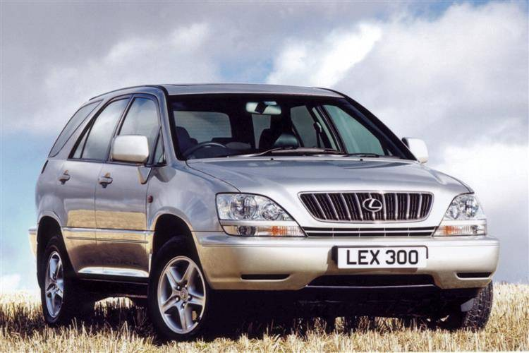 lexus rx 300 2000 2003 used car review car review. Black Bedroom Furniture Sets. Home Design Ideas
