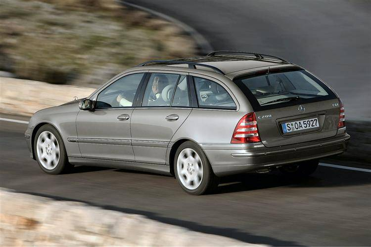 mercedes-benz c-class estate  2001