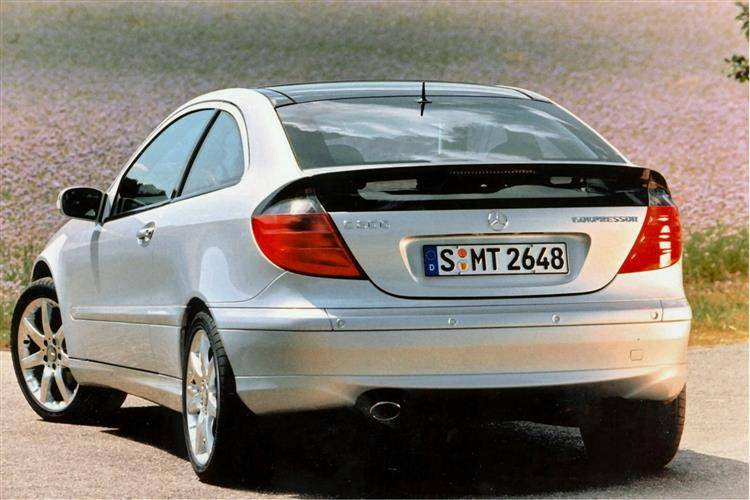 mercedes-benz c-class sports coupe (2001 - 2008) used car review
