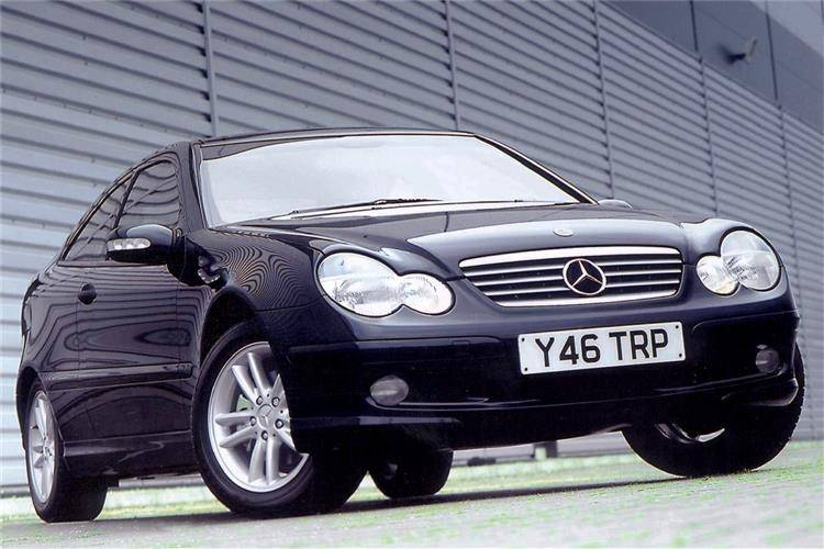Mercedes-Benz C-Class Sports Coupe (2001 - 2008) used car