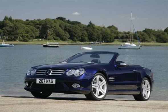 Mercedes-Benz SL-Class (2008 - 2012) used car review