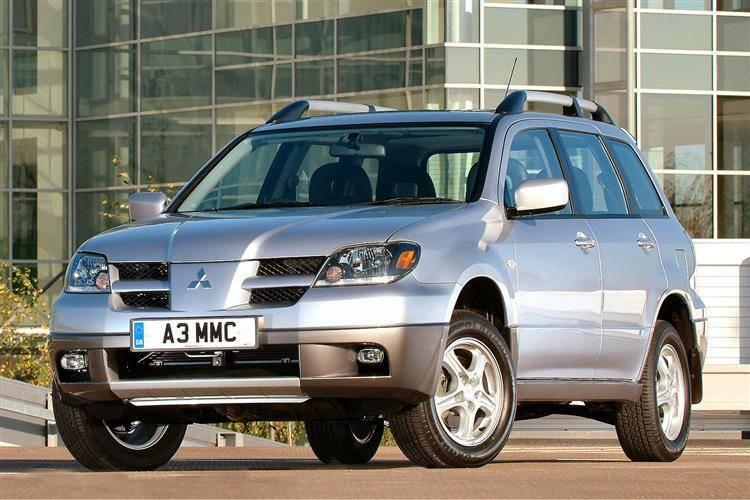 mitsubishi outlander 2003 2007 used car review car. Black Bedroom Furniture Sets. Home Design Ideas