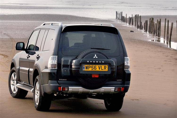 Mitsubishi Shogun (2007 - 2009) used car review   Car review