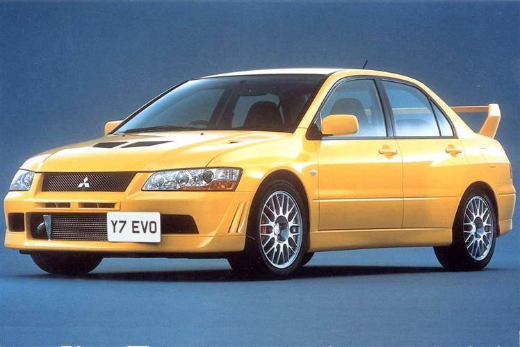 Used Mitsubishi Lancer >> Mitsubishi Lancer Evo Vii 2001 2003 Used Car Review Car Review