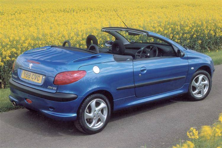 Peugeot 206 Coupe Cabriolet (2000 - 2007) used car review | Car ...