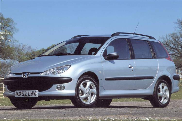 peugeot 206 sw 2002 2006 used car review car review. Black Bedroom Furniture Sets. Home Design Ideas