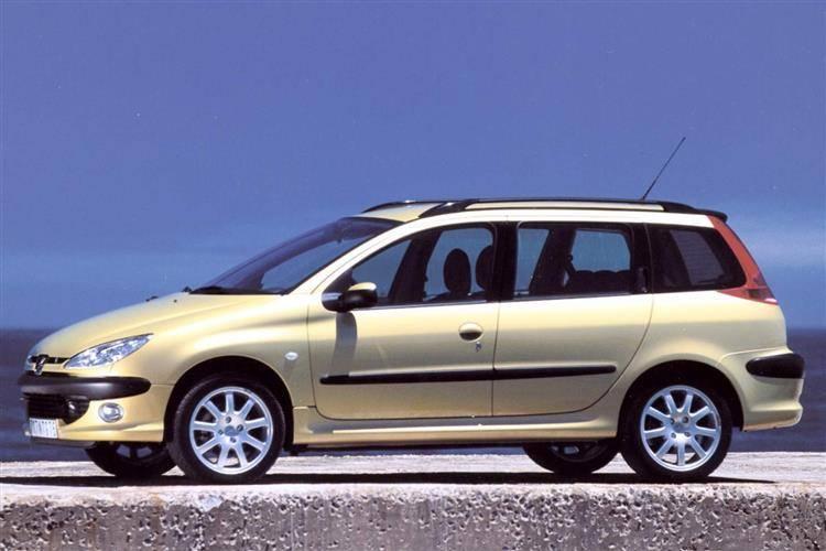 peugeot 206 sw 2002 2006 used car review car review. Black Bedroom Furniture Sets. Home Design Ideas