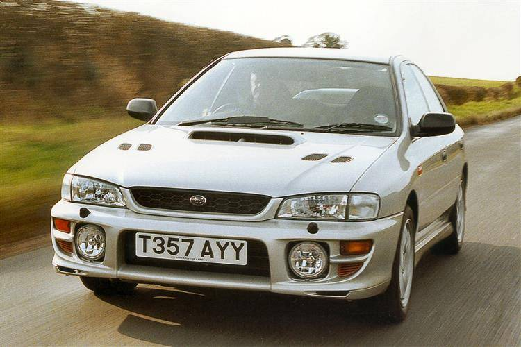 subaru impreza 1993 2000 used car review car review. Black Bedroom Furniture Sets. Home Design Ideas