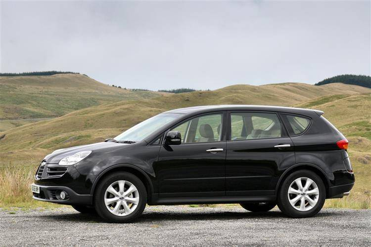 subaru b9 tribeca 2006 2009 used car review car. Black Bedroom Furniture Sets. Home Design Ideas
