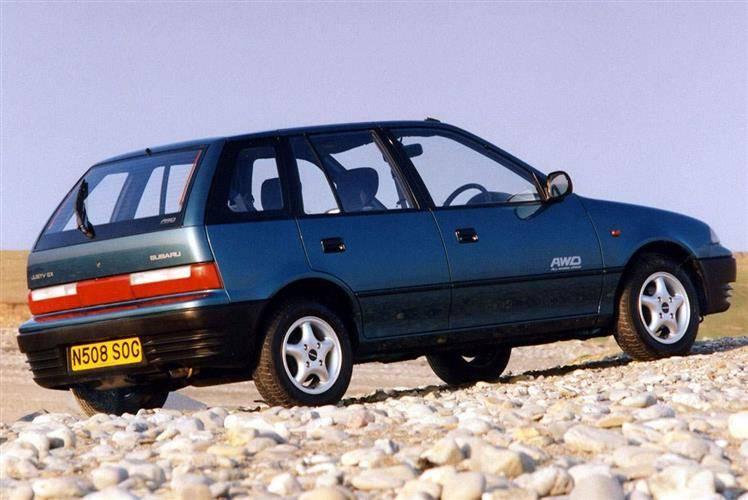 Subaru justy awd