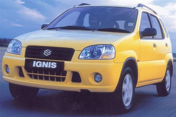 Suzuki Ignis (2000 - 2008) used car review