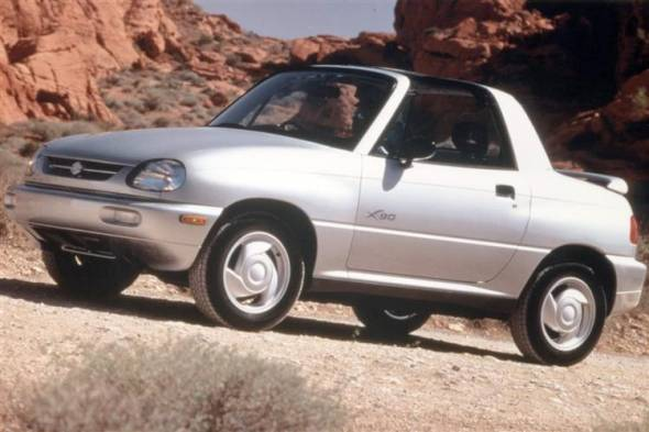 Suzuki X - 90 (1996 - 1998) used car review