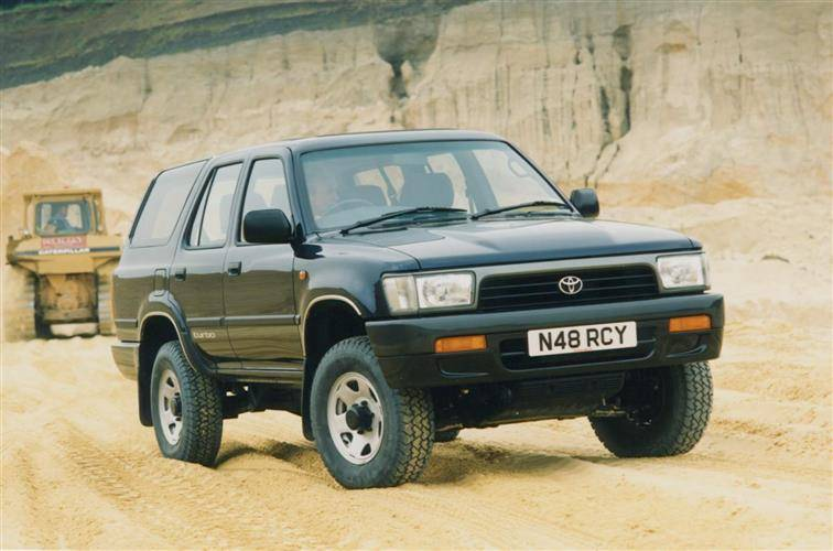 toyota 4 runner 1993 1996 used car review car. Black Bedroom Furniture Sets. Home Design Ideas