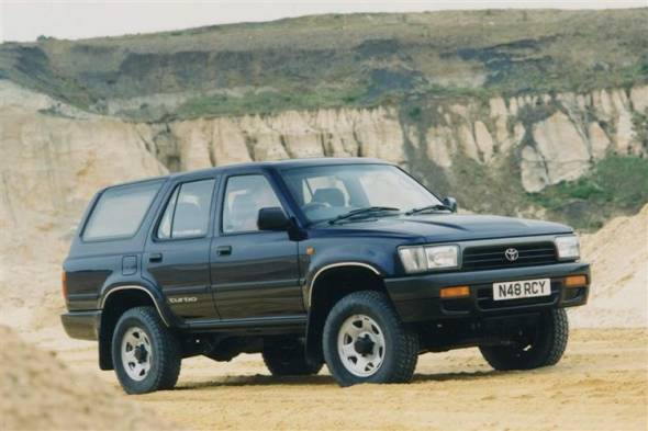 Toyota 4 - Runner (1993 - 1996) used car review