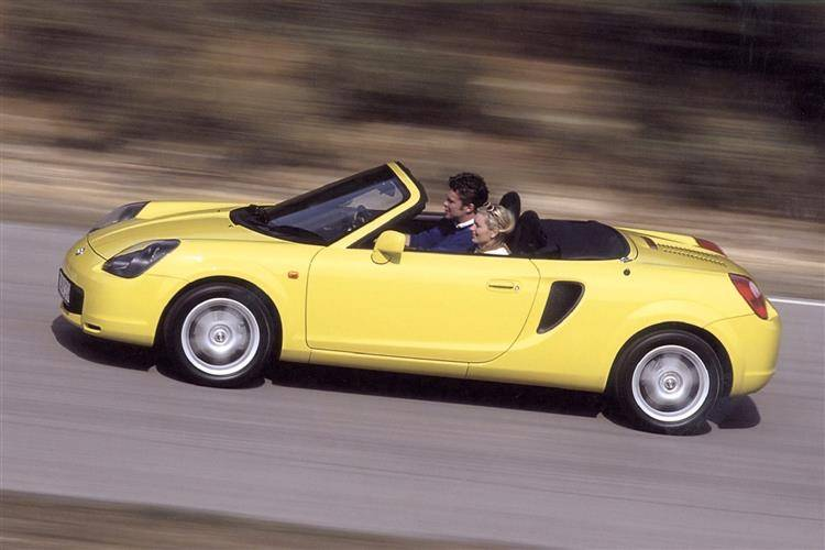 mr2 spyder dimensions 2003