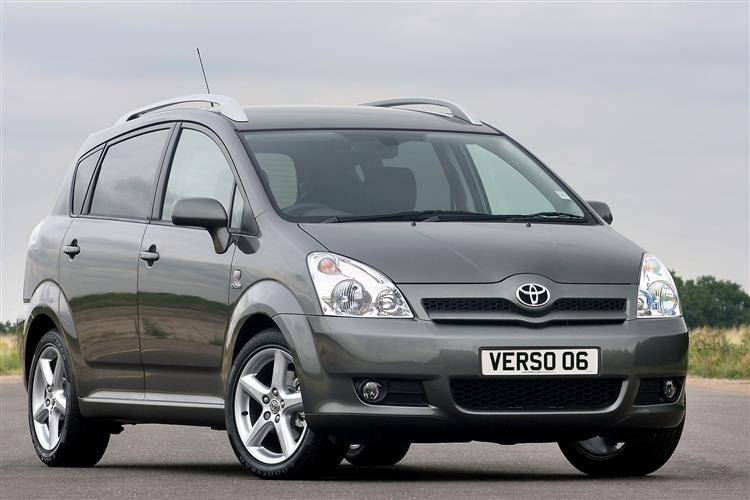 toyota verso 2005 2009 used car review car review. Black Bedroom Furniture Sets. Home Design Ideas