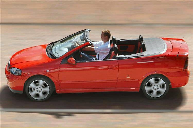 Vauxhall Astra Coupe (2000 - 2005) used car review