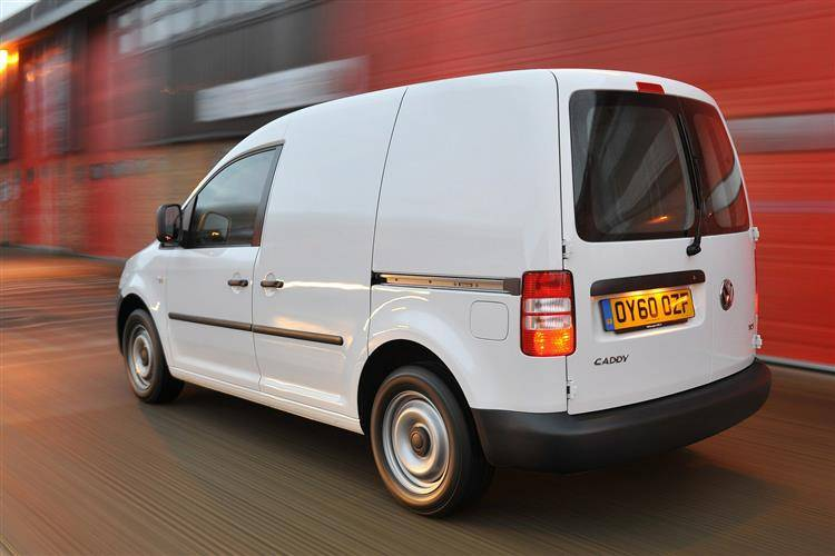 Volkswagen Caddy van (2004-2011) used car review