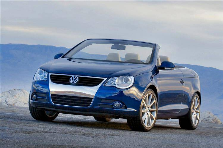 volkswagen eos    car review car review rac drive