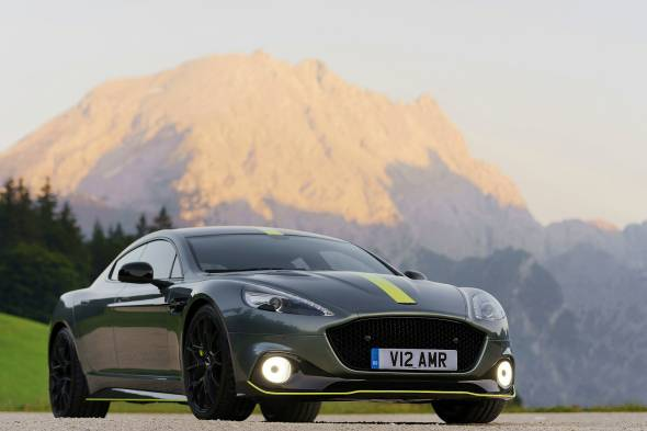 Aston Martin Rapide AMR review