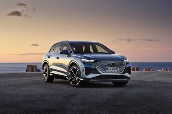 Audi Q4 e-tron review