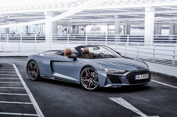 Audi R8 Spyder review