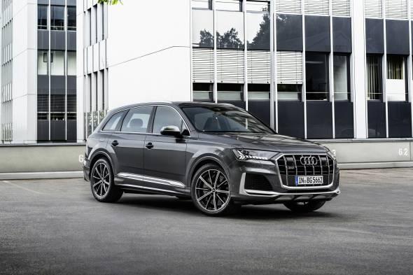 Audi SQ7 TFSI review