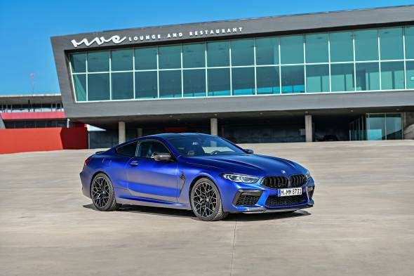 BMW M8 Competition review