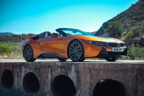 BMW i8 Roadster review