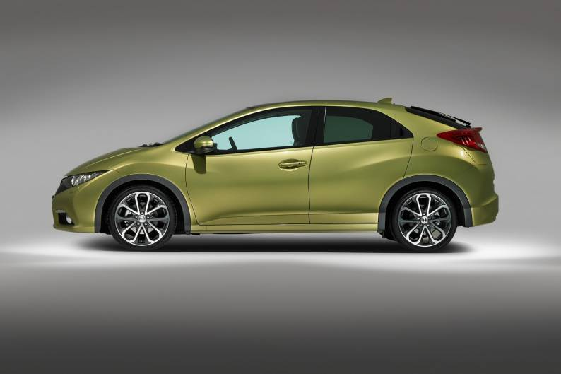 Car Mats with Clips MK9 2012 to 2015 Honda Civic 5DR PETROL