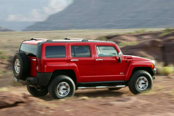 Hummer H3 (2007 - 2010) used car review