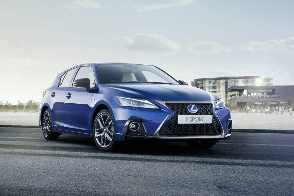 Lexus CT200h F Sport review