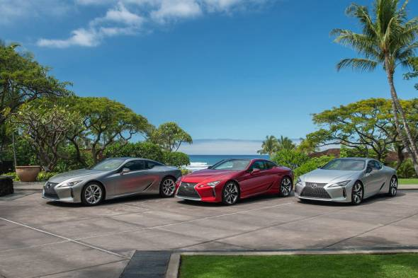 Lexus LC Coupe review