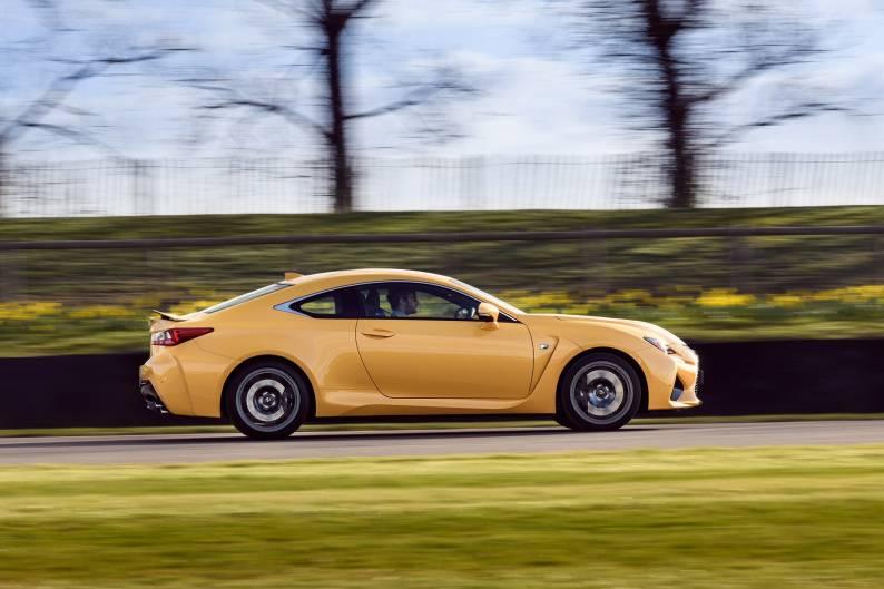 Lexus RC F Coupe review
