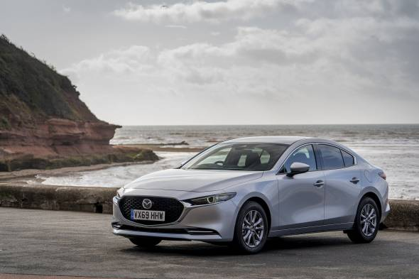 Mazda3 Saloon review