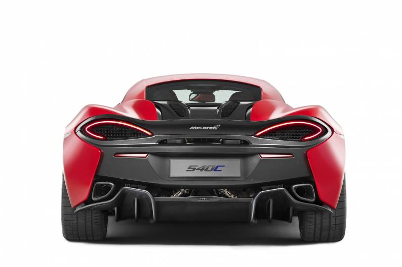 McLaren 540C review
